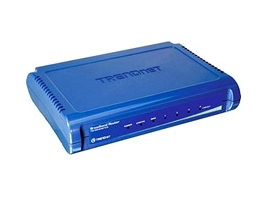 TRENDnet TW100-S4W1CA 4-Port Broadband Router